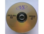 DVD+RW VS 4,7 GB 4x Bulk 50 золотистый